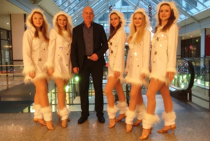 Magic Dancer Showballett Frankfurt Oder Tanzshow Shopping Center X-Mas Weihnachten