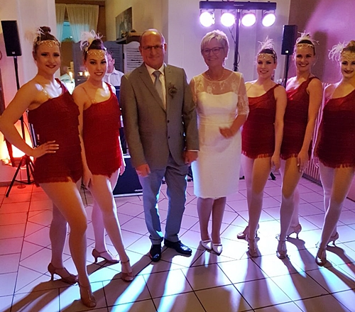 Hotel Alte Feuerwehr Magic Dancer Showballett