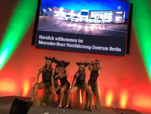 Mercedes Benz Adlershof Neujahrsempfang 2019 Magic Dancer Showballett Tanzshow
