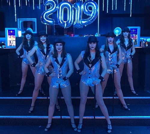 Silvester 2018 Magic Dancer Showballett
