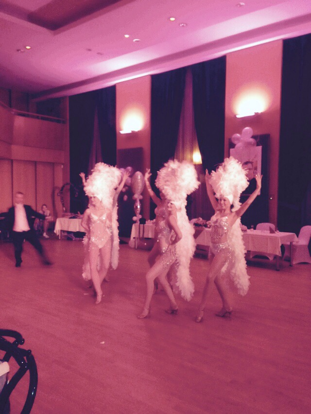 Hochzeit Stadthalle Bernau Tanz Show Magic Dancer