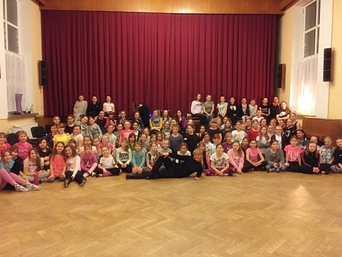 Kindertrainingslager 2018 Magic Dancer Tanzschule