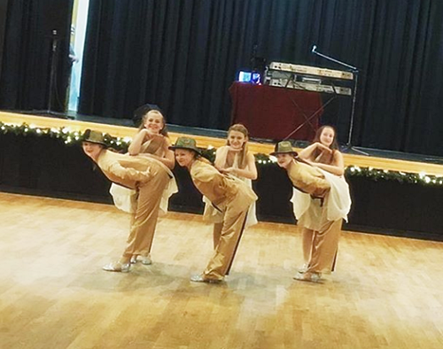 Stadthalle Bernau Weihnachten Magic Dancer 2019